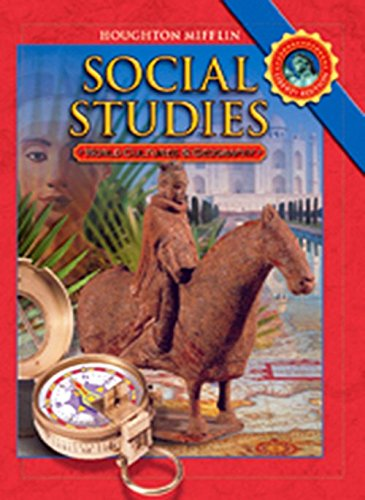 9780618830961: Houghton Mifflin Social Studies: Student Edition Level 6 World Cultures and Geography 2008