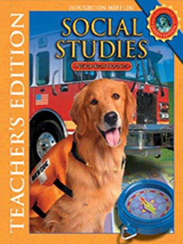 9780618831005: Houghton Mifflin Social Studies: Teacher Edition Level 2 Neighborhoods 2008