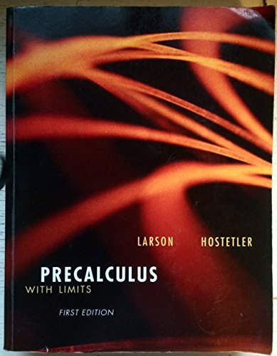 9780618831210: Precalculus with Limits