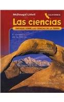 9780618832620: Las ciencias: Enfoque sobre las ciencias de la tierra: California