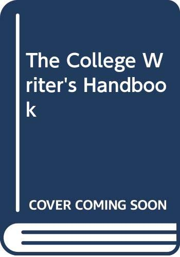 9780618834891: The College Writers Handbook With Cd 2nd Edition Paperback Plus Spiral Version