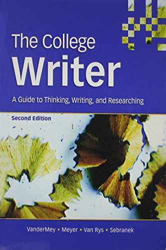 9780618836253: The College Writer