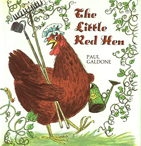9780618836840: The Little Red Hen Big Book (Paul Galdone Classics)