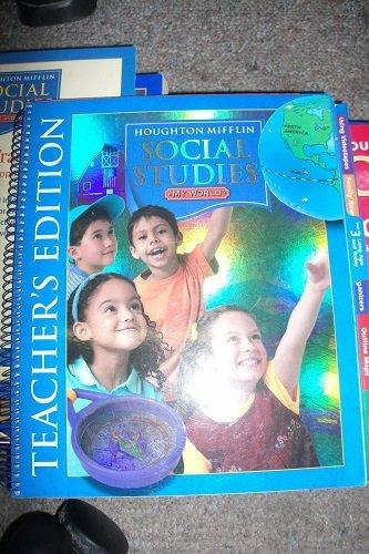 9780618837328: Social Studies Teacher Resource Kit Level K: My World (Houghton Mifflin Social Studies)