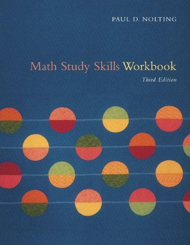 9780618837465: Math Study Skills Workbook