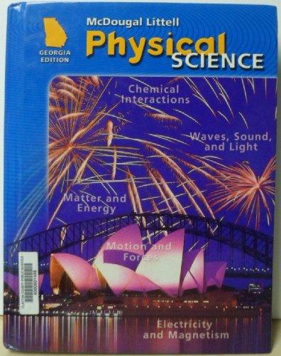 McDougal Littell Science Georgia: Student Edition Grade 8 Physical Science 2008: MCDOUGAL LITTEL