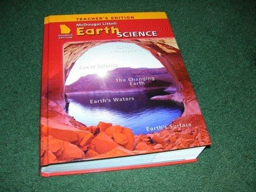 9780618837618: McDougal Littell Science Georgia: Teachers Edition Grade 6 Earth Science 2008