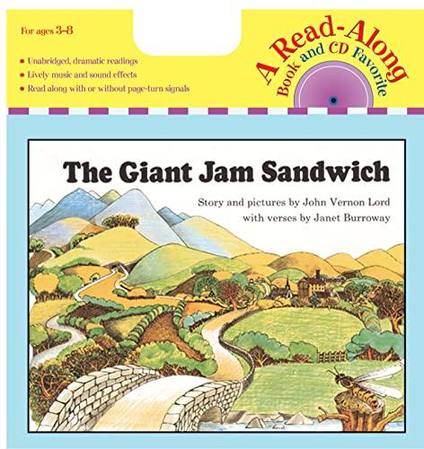 9780618839520: The Giant Jam Sandwich Book & CD (Read Along Book & CD)