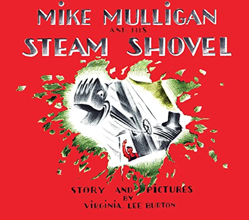 9780618840199: Mike Mulligan and His Steam Shovel: Board Book Edition