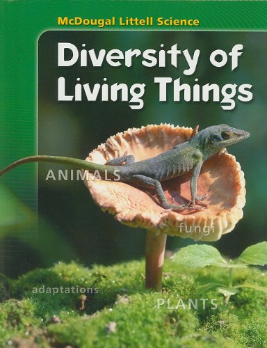 9780618842193: McDougal Littell Science Diversity of Living Things