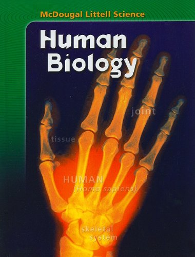 9780618842230: McDougal Littell Science: Student Edition Human Biology 2007
