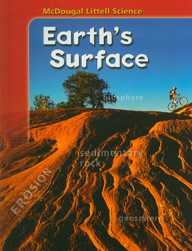 9780618842278: McDougal Littell Science: Student Edition Earth's Surface 2007