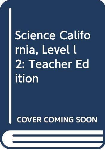 9780618843541: Houghton Mifflin Science Spanish California: Teacher Ed Level l 2 2007 (Spanish Edition)