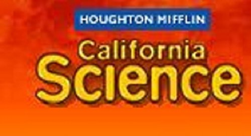 Houghton Mifflin Science Spanish California: Bk 6Pk Ch Su Ch4 Level 6 (Spanish Edition) (061884662X) by HOUGHTON MIFFLIN