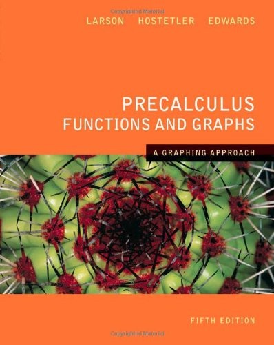 9780618851508: Precalculus Functions and Graphs: A Graphing Approach 5th Edition