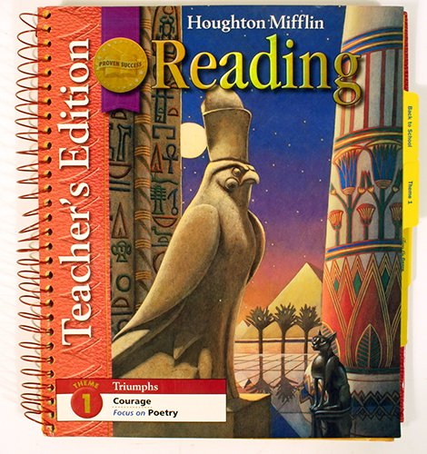 Houghton Mifflin Reading: Teach Edi Theme 1 Level l 6 2008: MIFFLIN, HOUGHTON