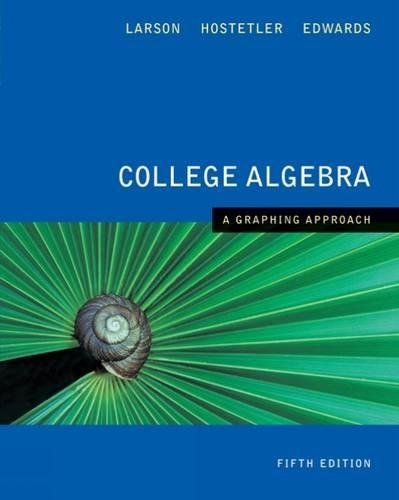 9780618851881: College Algebra A Graphing Approach
