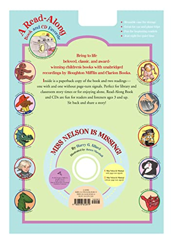 9780618852819: Miss Nelson is Missing! Book & CD (Read Along Book & CD)