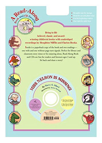 9780618852819: Miss Nelson Is Missing! [With Book] (Read-Along)