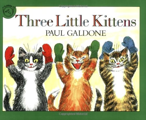 9780618852857: Three Little Kittens Book & CD (Paul Galdone Classics)