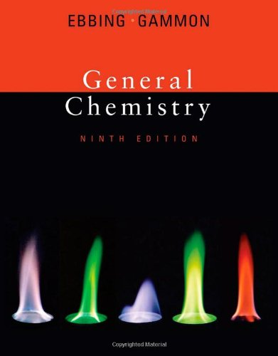 Ebbing and gammon general chemistry abebooks.