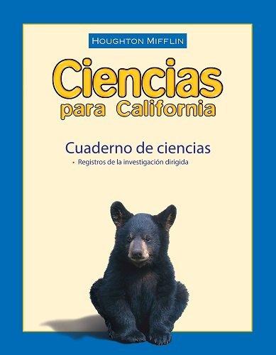 Houghton Mifflin Science Spanish California: Notebook Consumable Level 4 (Spanish Edition): MIFFLIN...