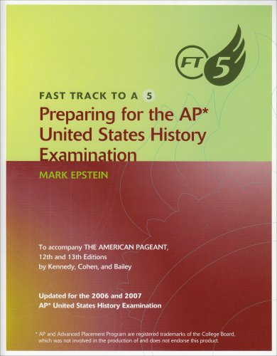 9780618863655: Fast Track to A 5 Preparing for the AP United States History Examination