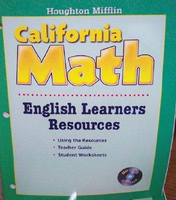 HM Houghton Mifflin Mathmatics 2009 California: Ell Black Line Mast Bk L1 09: HOUGHTON MIFFLIN