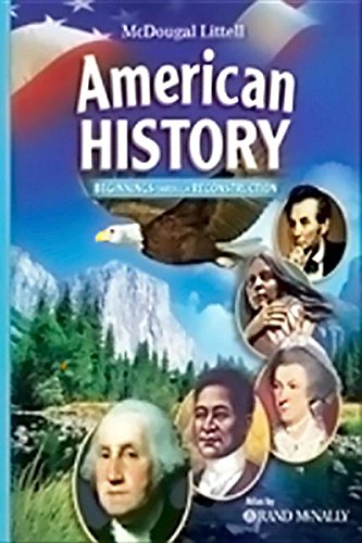 9780618872183: McDougal Littell Middle School American History: Resources 2 Go (MAC) Grades 6-8 Beginnings to 1914