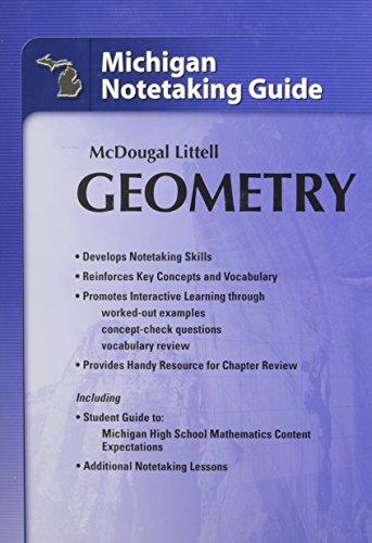 9780618872855: Holt McDougal Larson Geometry: Notetaking Guide