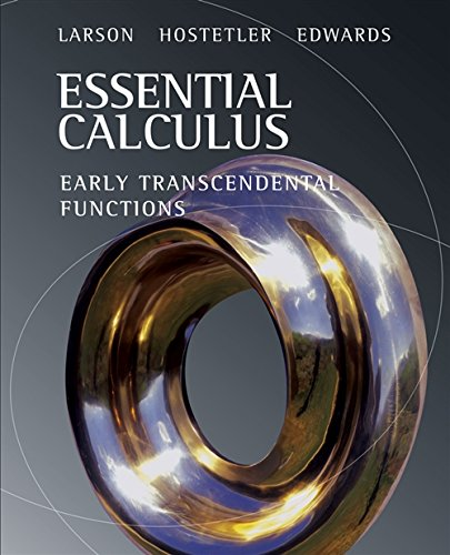 Essential Calculus: Early Transcendental Functions (Available 2010 Titles Enhanced Web Assign) (0618879188) by Ron Larson; Robert P. Hostetler; Bruce H. Edwards