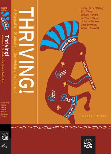 9780618882144: Thriving!: A Manual for Students in the Helping Professions