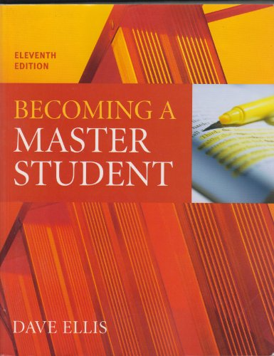 9780618882779: Ellis Becoming A Master Student Eleventh Edition Plus Downing On Course