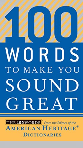 9780618883103: 100 Words to Make You Sound Great