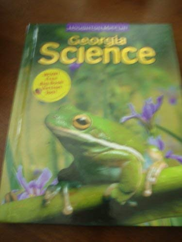 9780618884902: Houghton Mifflin Science Georgia: Student Edition Level 3 2009