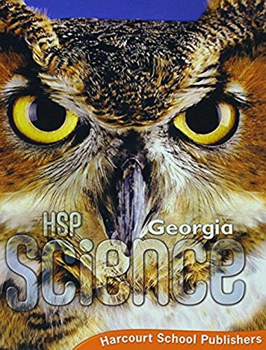 9780618884919: Houghton Mifflin Science Georgia: Student Edition Level 4 2009