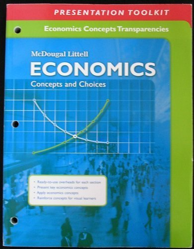 9780618887163: Economics: Concepts and Choices: Economics Concepts Transparencies