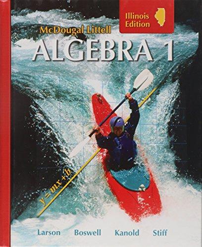9780618887637: McDougal Littell Algebra 1 (Illinois Edition), Grades 9-12