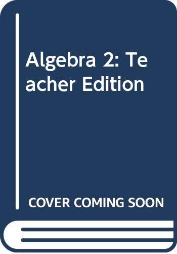 9780618887668: Holt McDougal Larson Algebra 2: Teacher's Edition Algebra 2 2008