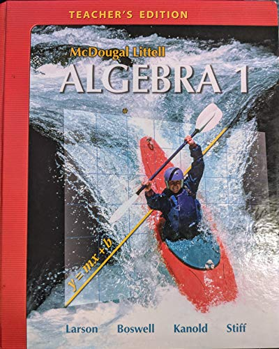 9780618887705: McDougal Littell Algebra 1 New York: Teacher's Edition Algebra 1 2008