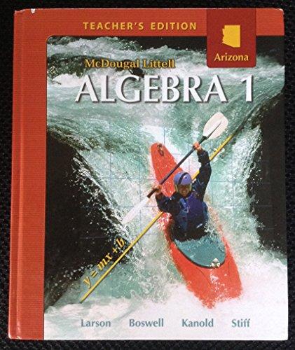 9780618887750: McDougal Littell Algebra 1 Arizona: Teacher's Edition Algebra 1 2008