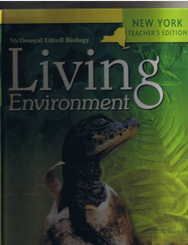 9780618887828: McDougal Littell Biology New York: Teacher Edition Grades 9-12 2008