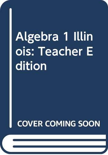 9780618888528: McDougal Littell Algebra 1 Illinois: Teacher's Edition Algebra 1 2008
