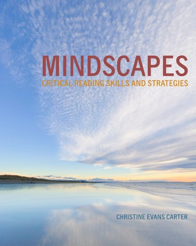 Mindscapes: Critical Reading Skills and Strategies: Carter, Christine E.