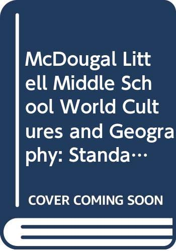9780618890002: McDougal Littell Middle School World Cultures and Geography: Standards Based Assessment