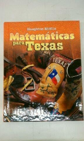 Matematicas para Texas, 5th Grade: Mary Alice Hatchett,