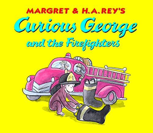 9780618891948: Curious George and the Firefighters: Lap Edition