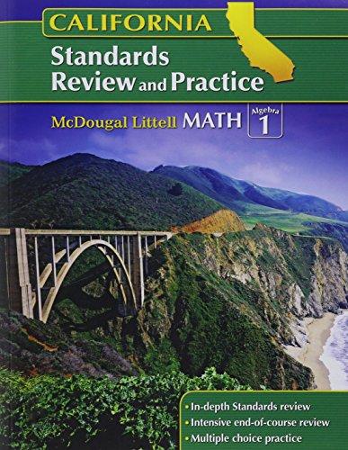 McDougal Littell Middle School Math California: Standards: MCDOUGAL LITTEL