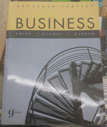 Business, Expanded Version: William M. Pride,