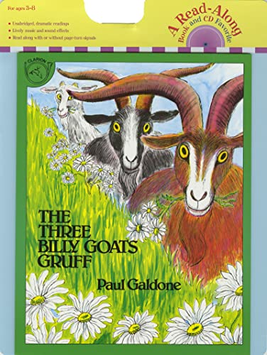 9780618894994: The Three Billy Goats Gruff Book & CD [With CD] (Read Along Paperback & Audio)